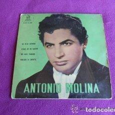 Discos de vinilo: ANTONIO MOLINA - MI ROSA MORENA - 1962. Lote 135142418