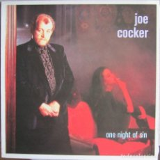 Discos de vinilo: JOE COCKER: ONE NIGHT OF SIN. Lote 135143994