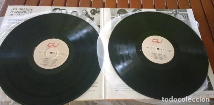 Discos de vinilo: LES GRANDS CLASSIQUES DU JAZZ STEPHANE GRAPPELLI QUINTET. FEATURING BILL COLEMAN. 2 LP - Foto 2 - 135161654