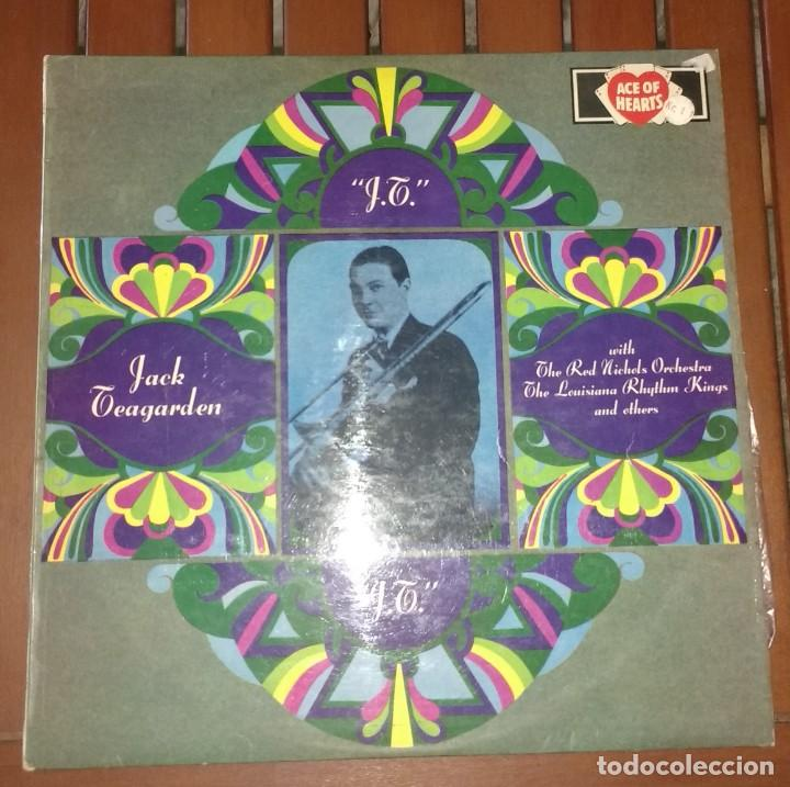 JACK TEAGARDEN – J.T. (Música - Discos - LP Vinilo - Jazz, Jazz-Rock, Blues y R&B)