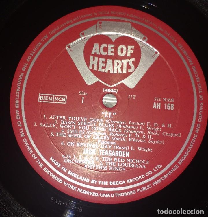 Discos de vinilo: Jack Teagarden – J.T. - Foto 4 - 135163142