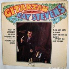 Discos de vinilo: RAY STEVENS – GITARZAN (ESPAÑA, 1969). Lote 135164690
