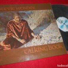Discos de vinilo: STEVIE WONDER TALKING BOOK LP 1980 MOTOWN GATEEFOLD EDICION ESPAÑOLA SPAIN. Lote 135165706