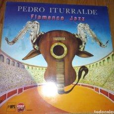 Discos de vinilo: PEDRO ITURRALDE JAZZ FLAMENCO. Lote 135171583