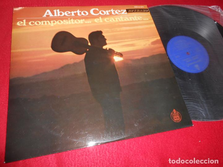 ALBERTO CORTEZ EL COMPOSITOR...EL CANTANTE... LP 1969 HISPAVOX EDICION ESPAÑOLA SPAIN (Música - Discos - LP Vinilo - Solistas Españoles de los 50 y 60)