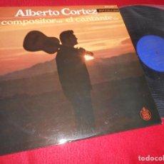 Discos de vinilo: ALBERTO CORTEZ EL COMPOSITOR...EL CANTANTE... LP 1969 HISPAVOX EDICION ESPAÑOLA SPAIN. Lote 135172282