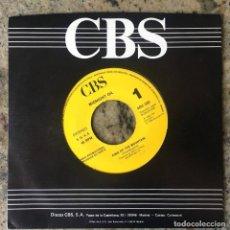 Discos de vinilo: MIDNIGHT OIL - KING OF THE MOUNTAIN . SINGLE . 1990 CBS . PROMO . SOLO CARA A. Lote 135192002