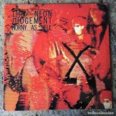 Discos de vinilo: THE NEON JUDGEMENT - HORNY AS HELL . LP . 1988 NUEVOS MEDIOS . Lote 135194730