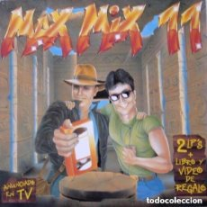 Discos de vinilo: MAX MIX 11 - 2 × VINYL, LP, PARTIALLY MIXED SPAIN 1991. Lote 135210810