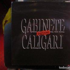 Discos de vinilo: GABINETE CALIGARI- PRIVADO. LP.. Lote 135221546