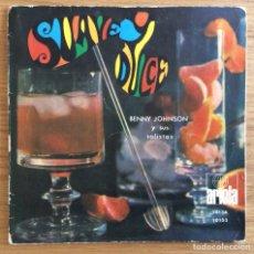 Discos de vinilo: BENNY JOHNSON Y SUS SOLISTAS EP EDIC ESPAÑA ARIOLA. Lote 135224446