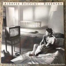 Discos de vinilo: ALBERTO SOLFRINI - NOCTURNO . LP . 1988 VIRGIN . Lote 135226082