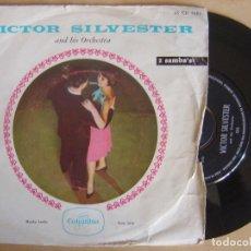 Discos de vinilo: VICTOR SILVESTER - MAMBA JAMBO + SUCU SUCU - SINGLE HOLANDES - COLUMBIA. Lote 135232406
