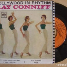 Discos de vinilo: RAY CONNIFF - HOLLYWOOD IN RHYTHM - EP HOLANDES - CBS. Lote 135234134