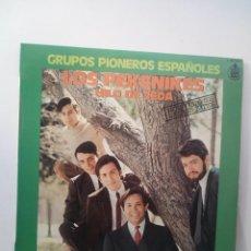 Discos de vinilo: LOS PEKENIKES - HILO DE SEDA LP 1978. Lote 135240742