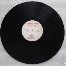 Discos de vinilo: NEWD - HARRY TRACEY IS DEAD LP 1986 EDICION USA HARDCORE SIN CUBIERTA. Lote 135245190