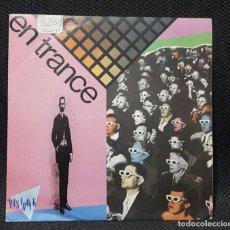 Discos de vinilo: EN TRANCE - EL ANGULO OSCURO - SINGLE - PROMOCIONAL - UNA SOLA CARA - ESPAÑA - 1988 - SELLO PASAROCK. Lote 135251974