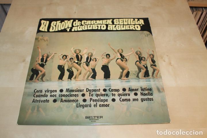 AUGUSTO ALGUERÓ/CARMEN SEVILLA -LP- EL SHOW DE... SPAIN 70'S (Música - Discos de Vinilo - Maxi Singles - Solistas Españoles de los 50 y 60)