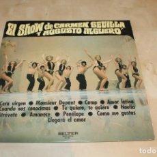 Discos de vinilo: AUGUSTO ALGUERÓ/CARMEN SEVILLA -LP- EL SHOW DE... SPAIN 70'S. Lote 135252726