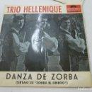 Discos de vinilo: TRIO HELLENIQUE -DANZA DE ZORBA + 3 -EP -POLYDOR ESPAÑA-AÑO 1965-N. Lote 135253946