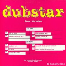 Discos de vinilo: PROMO DUBSTAR STARS - THE MIXES - 2 VINILOS MAXI-SINGLE UK. Lote 135254822