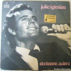 Discos de vinilo: JULIO IGLESIAS. ABRAZAME. Lote 140265178