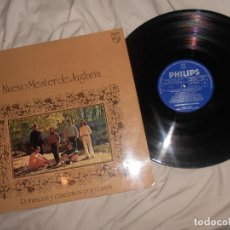Discos de vinilo: LP ROMANCES Y CANCIONES POPULARES 1971 NUEVO MESTER JUGLARIA, SPAIN FOLK, COMO NUEVO. Lote 135273722