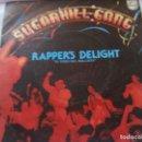 Discos de vinilo: SUGARHILL GANG -RAPPER'S DELIGHT-. Lote 135275830
