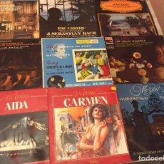 Discos de vinilo: LOTE 22 LPS MÚSICA CLÁSICA, OPERA, ZARZUELA. . Lote 135277106