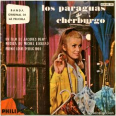 Discos de vinilo: MICHEL LEGRAND ?– BSO DE LA PELÍCULA: LOS PARAGUAS DE CHERBURGO - EP SPAIN 1964 - PHILIPS ?. Lote 135280790