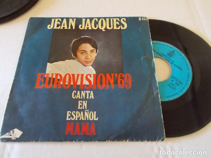 JEAN JACQUES EUROVISION 69, CANTA EN ESPAÑOL MAMA (Música - Discos - Singles Vinilo - Festival de Eurovisión)