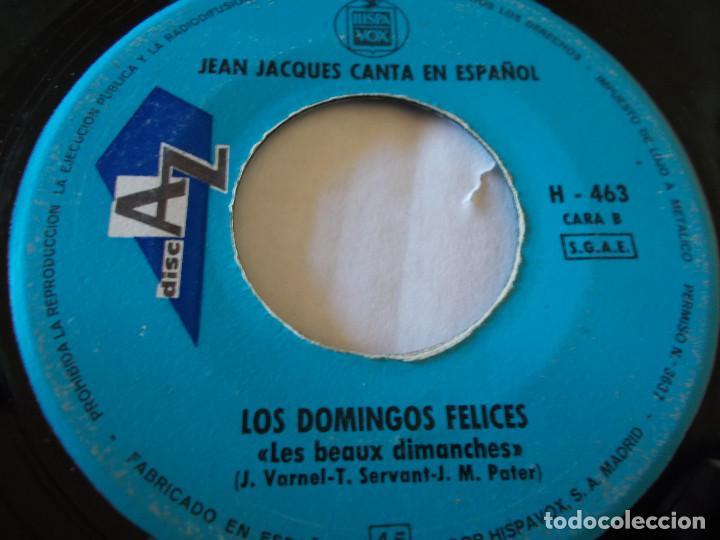 Discos de vinilo: JEAN JACQUES EUROVISION 69, CANTA EN ESPAÑOL MAMA - Foto 3 - 135292746