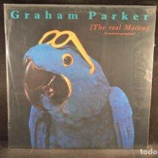 Discos de vinilo: GRAHAM PARKER - THE REAL MACAW (EL AUTENTICO GUACAMAYO) - LP. Lote 135305678