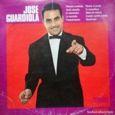 Discos de vinilo: JOSE GUARDIOLA - LP 10 PULGADAS SPAIN 1972 EDICION CIRCULO DE LECTORES. Lote 135328998