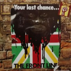 Discos de vinilo: THE FRONT LINE - YOUR LAST CHANCE - GLADIATORS + U BROWN + POET AND THE ROOTS + BIG YOUTH LP 1978 . Lote 135332970