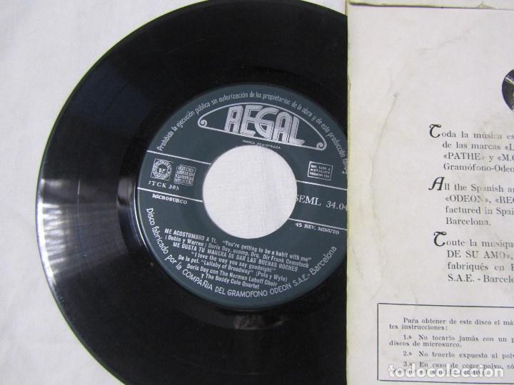Discos de vinilo: 3 EPs de Doris Day con orquesta - Foto 4 - 135337998