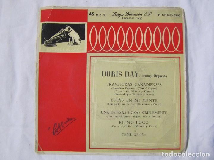 Discos de vinilo: 3 EPs de Doris Day con orquesta - Foto 8 - 135337998