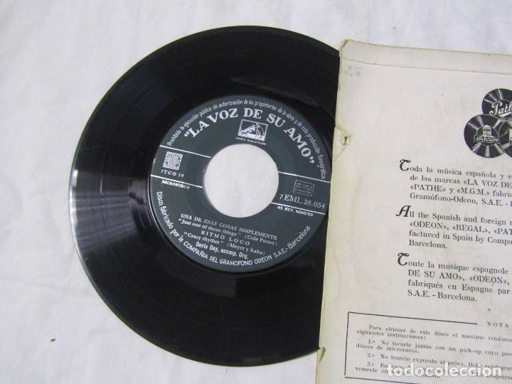 Discos de vinilo: 3 EPs de Doris Day con orquesta - Foto 10 - 135337998