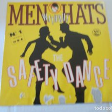 Discos de vinilo: MEN WITHOUT HATS, THE SAFETY DANCE. I LIKE. SECURITY. . MAXI. Lote 135340130