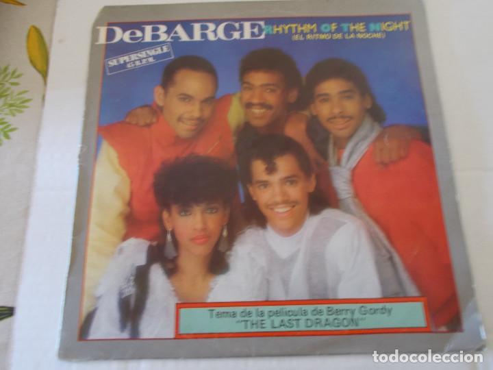 DEBARGE. RHYTHM OF THE NIGHT, QUEEN OF MY HEART. . MAXI (Música - Discos de Vinilo - Maxi Singles - Bandas Sonoras y Actores)