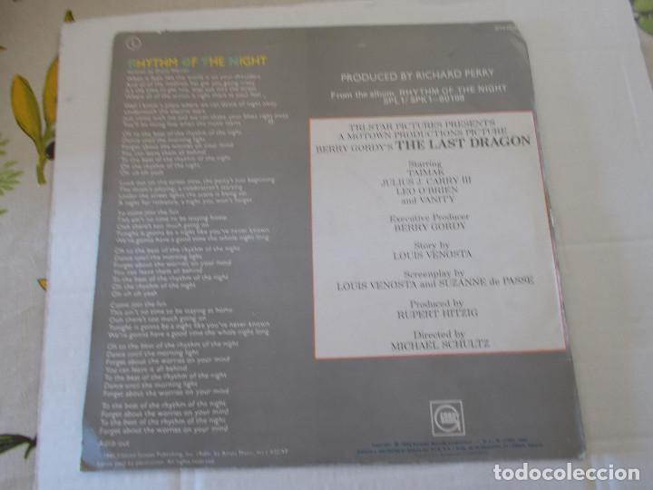 Discos de vinilo: DEBARGE. RHYTHM OF THE NIGHT, QUEEN OF MY HEART. . MAXI - Foto 2 - 135341170