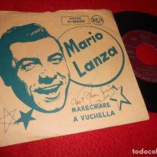 Discos de vinilo: MARIO LANZA MARECHIARE/A VUCCHELLA 7'' SINGLE 1958 RCA EDICION ESPAÑOLA SPAIN. Lote 135351094