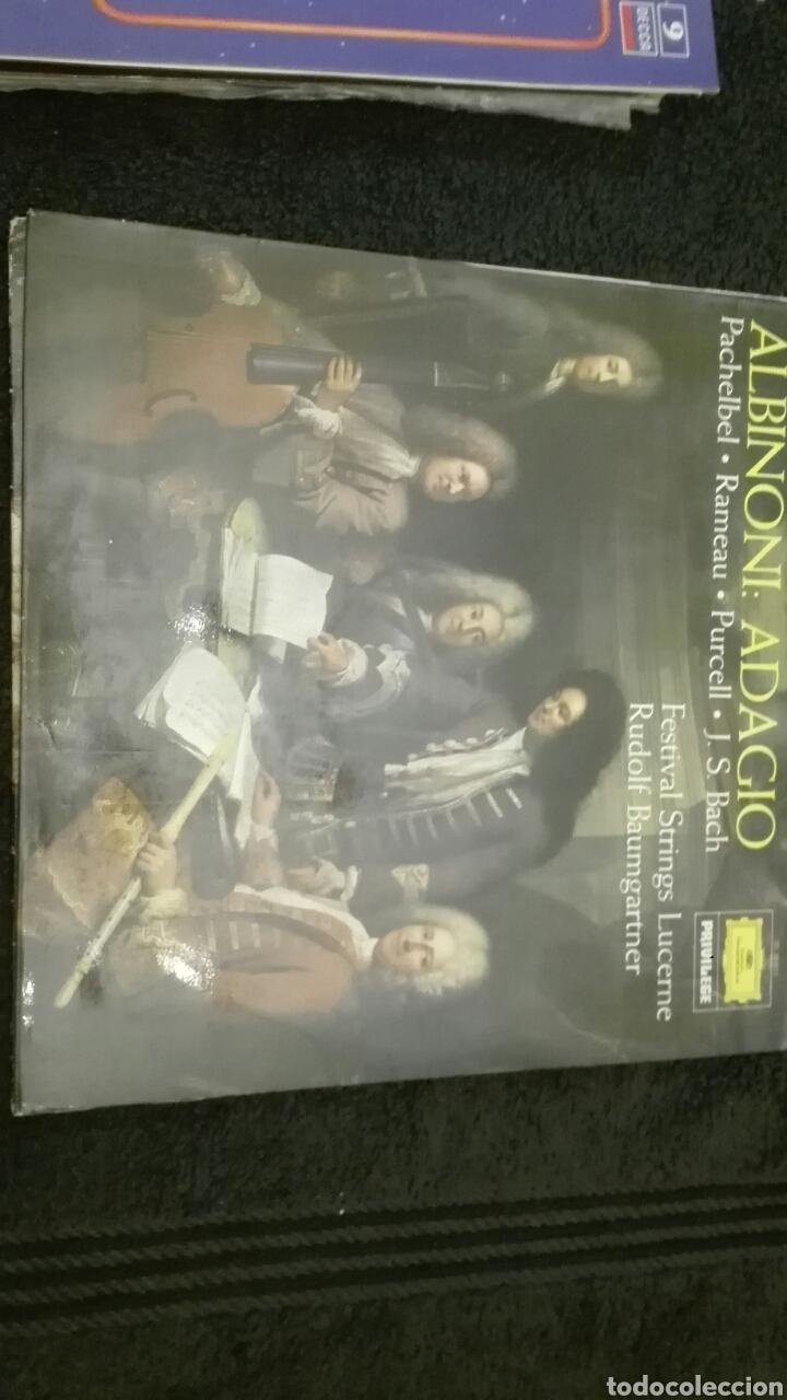 DISCO VINILO ALBIONI (Música - Discos - LP Vinilo - Clásica, Ópera, Zarzuela y Marchas)