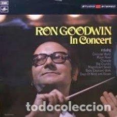 Discos de vinilo: RON GOODWIN AND HIS ORCHESTRA – RON GOODWIN IN CONCERT (ESPAÑA, 1972). Lote 135359726