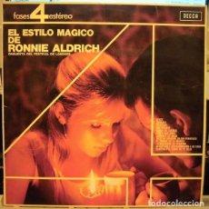 Discos de vinilo: RONNIE ALDRICH AND THE LONDON FESTIVAL ORCHESTRA ?– EL ESTILO MAGICO (ESPAÑA, 1965). Lote 135360066