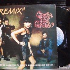 Discos de vinilo: GRETA Y LOS GARBO ROMPES MI CORAZON MINI LP SPAIN 1991 PDELUXE. Lote 135362514