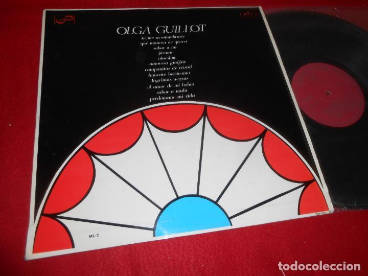 OLGA GUILLOT LP 1967 ZAFIRO EDICION ESPAÑOLA SPAIN (Música - Discos - LP Vinilo - Grupos y Solistas de latinoamérica)