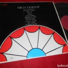 Discos de vinilo: OLGA GUILLOT LP 1967 ZAFIRO EDICION ESPAÑOLA SPAIN. Lote 135363926