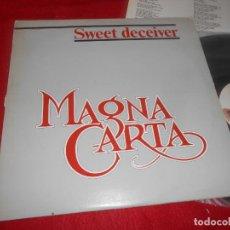 Discos de vinilo: MAGNA CARTA SWEET DECEIVER LP 1983 VICTORIA EDICION ESPAÑOLA SPAIN. Lote 135364006