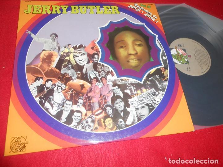 JERRY BUTLER EXPLOSION ROCK&ROLL VOL.10 LP 1982 ALLIGATOR RECORDS EDICION ESPAÑOLA SPAIN (Música - Discos - LP Vinilo - Pop - Rock - Internacional de los 70)